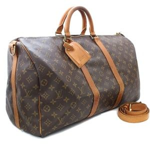 Authentic Louis Vuitton Keepall 50 Bandouliere